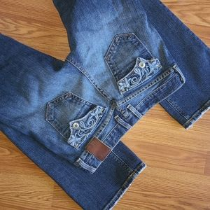 Luckey Brand Red Label bootcut jeans, Sz 2/26